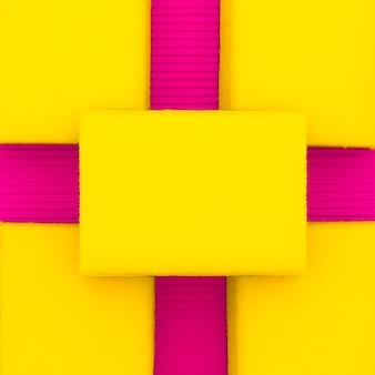 Hintergrund von schwämmen. minimalistisches design.