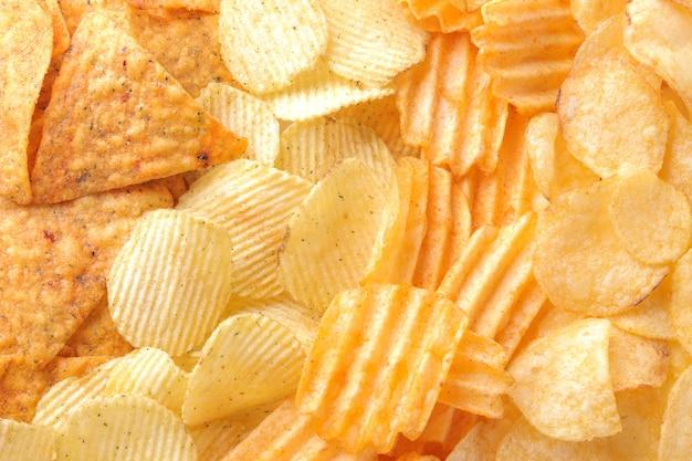 Hintergrund von verschiedenen chips