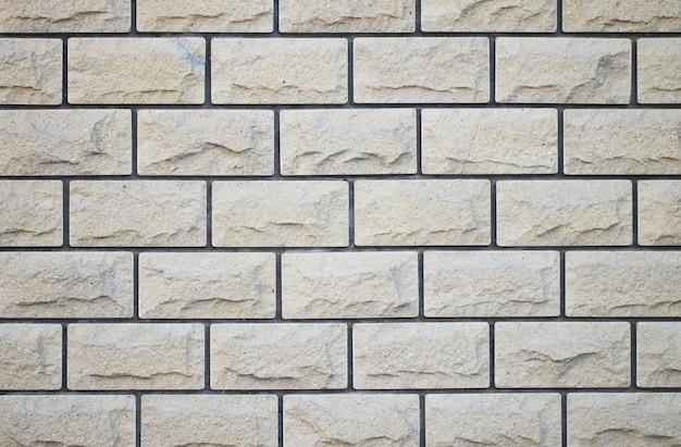 Hintergrund ziegelmauer in einem hellen tag