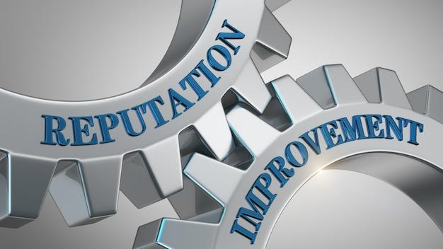 Hintergrund zur verbesserung der reputation