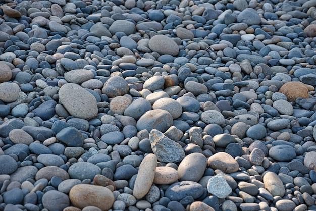 Hintergrundaufnahme von kieselsteinen