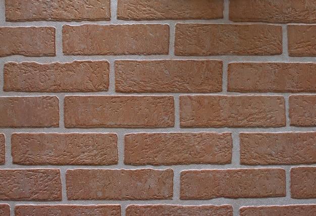 Hintergrundbeschaffenheit der roten backsteinmauer. baukonzept. mauerwerk