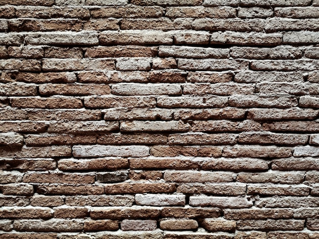Hintergrundbeschaffenheit der schmutzigen wände des alten ziegelsteines. abstrakt