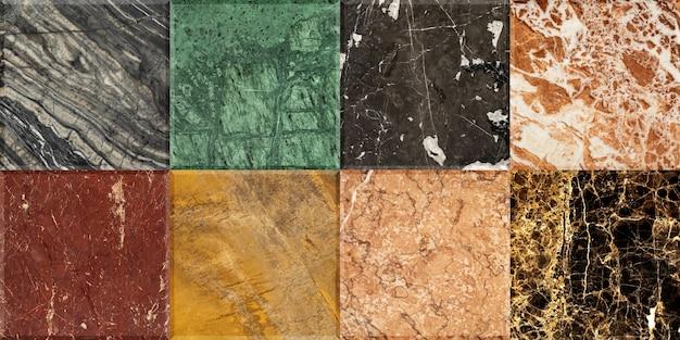Hintergrundbeschaffenheit von natursteinmarmor und granit. mosaik.