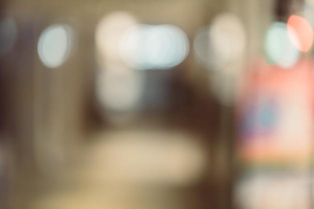 Hintergrundbild von einkaufszentrum oder kaufhaus zu verwischen