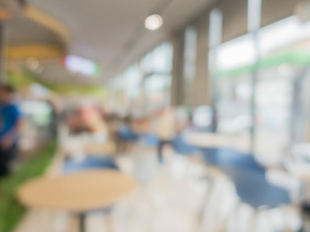 Hintergrundbild von einkaufszentrum zu verwischen