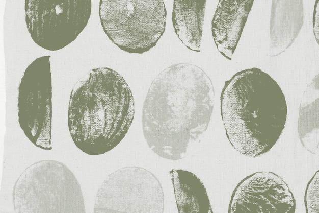 Hintergrundblockdrucke mit grünem kreismuster