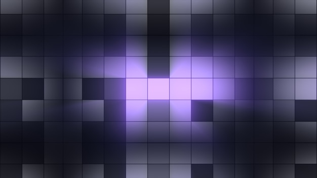 Hintergrundlichtquadrate blinken. clubatmosphäre