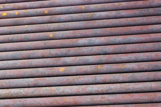 Hintergrundsammlung - textur von rostigen wasserrohren aus altmetall