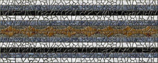 Hintergrundsteinbeschaffenheit. farbiges mosaik mit marmor- oder granitstruktur. bodenfliesen