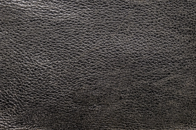 Hintergrundstruktur schwarzes leder. nahaufnahme der layoutstruktur