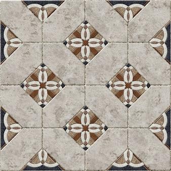 Hintergrundtextur mit einem muster. dekorative steinfliesen aus farbigem marmor und granit. element für design