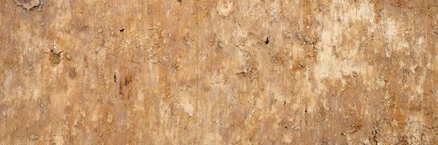 Hintergrundtextur von der glatten oberfläche des sandes. draufsicht. banner