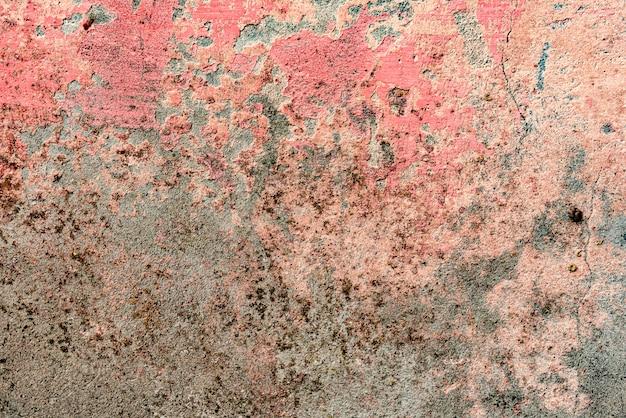 Hintergrundwand mit kitt gemalt rosa texturoberfläche