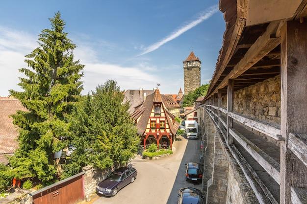 Historische stadt rothenburg ob der tauber