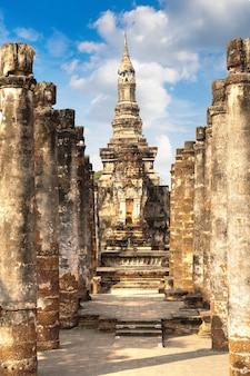 Historischer park sukhothai, thailand