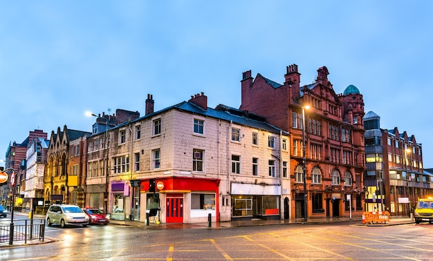 Historisches gebäude in leeds - west yorkshire, england