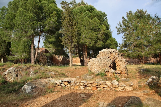Historisches schloss in alania