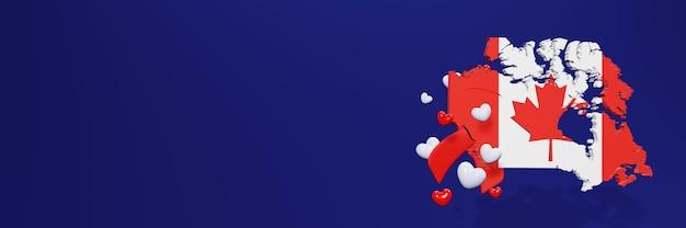 Hiv-aids-jubiläum in kanada für social-media-beiträge und -geschichten