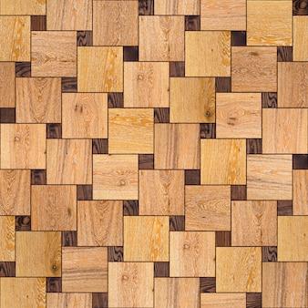 Hochdetaillierte nahtlose kippbare textur des parkettbodens aus holz
