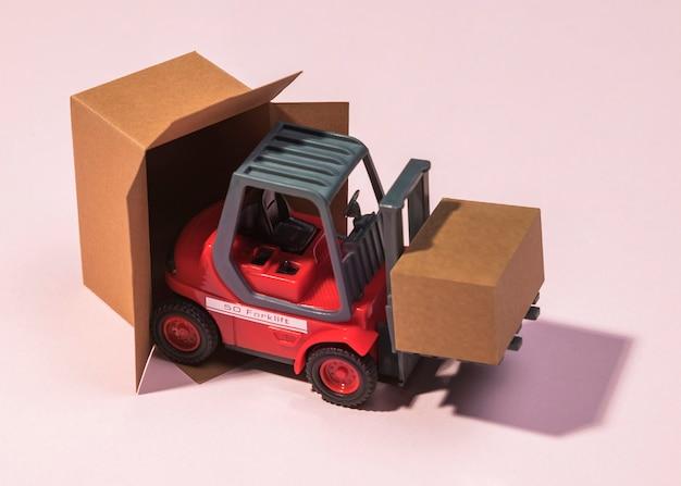 Hochwinkel-gabelstapler-tragebox
