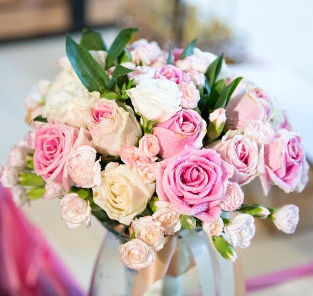 Hochzeit blüht dekoration liebeskonzept