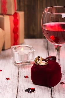 Hochzeit oder valentinstagskarte