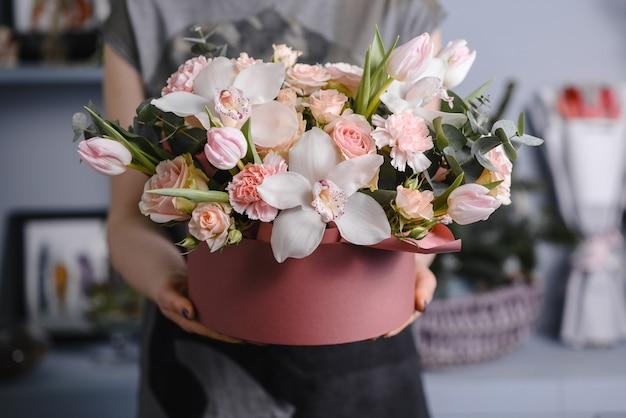 Hochzeitsblumen, brautstrauß-nahaufnahme