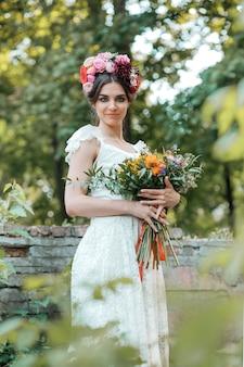 Hochzeitsdekoration im stil von boho