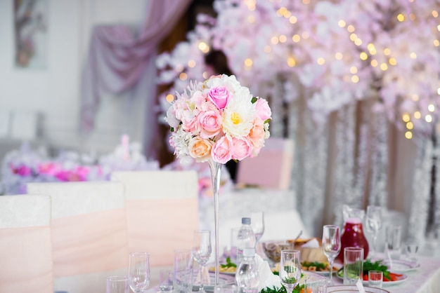 Hochzeitsdekorationen.