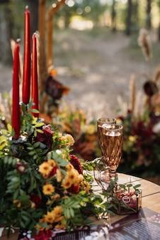 Hochzeitsgläser für wein und champagner aus kristall