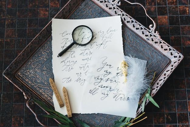 Hochzeitskalligraphie