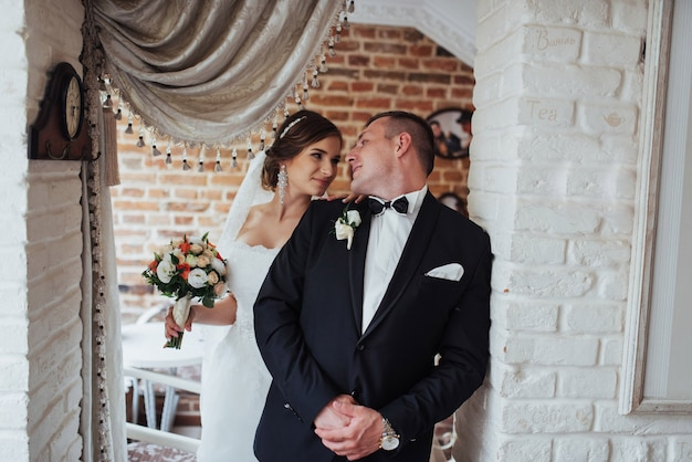 Hochzeitspaar im fotoshooting