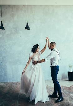 Hochzeitspaar tanzen
