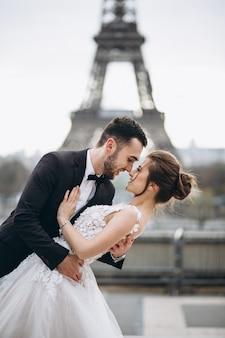Hochzeitspaare in frankreich