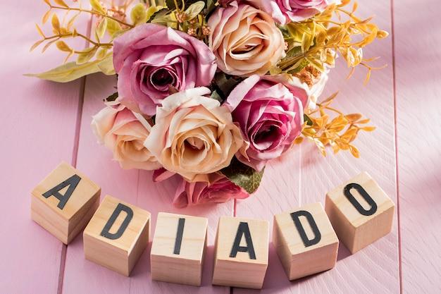 Hochzeitsveranstaltung aufgrund von coronavirus verzögert