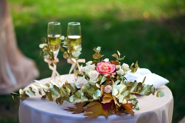 Hochzeitszeremonie dekorationen