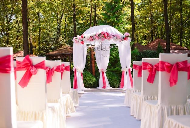 Hochzeitszeremonie.