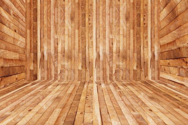Hölzerne parkettbeschaffenheit der bodendekoration innerhalb des raumes, leerer saunaraum