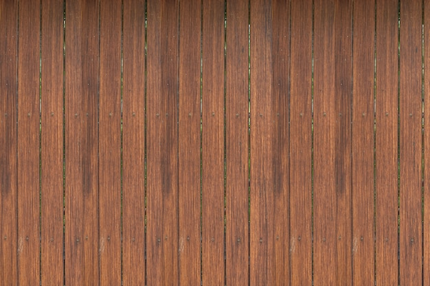 Hölzerne vertikale der braunen planke