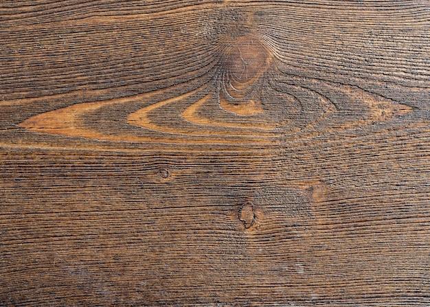 Hölzerner hintergrund mit kopierraum, braun gestreifter holzschreibtisch, alter tisch oder boden, alter grunge dunkler strukturierter hölzerner hintergrund, die oberfläche der alten braunen holzstruktur für design, draufsicht