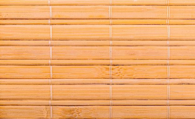 Hölzerner mattenhintergrund der neuen gelben beschaffenheit