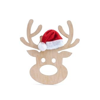 Hölzernes rotwild-weihnachtsbaumspielzeug