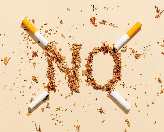 Hör auf, zigaretten zu rauchen