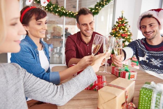 Hör auf zu arbeiten und feiere die weihnachtszeit