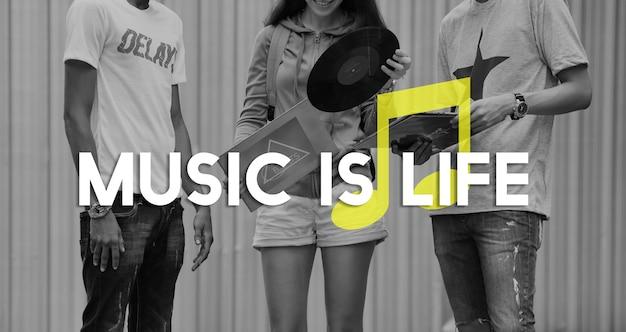 Hören sie musik entertain melody harmony