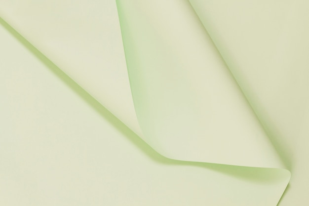 Hohe ansicht gefaltete papierbeschaffenheit