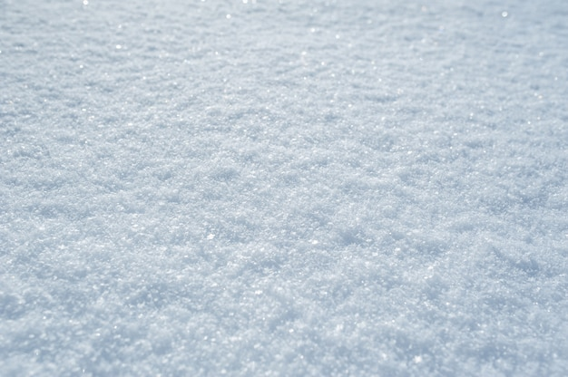 Hohe ausführliche oberfläche des winter weihnachtsschnees