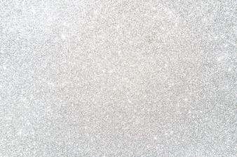 Hohe Winkelsicht des glänzenden Silbers färbte Glitterhintergrund