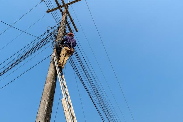 Hoher internet-kabellauf job